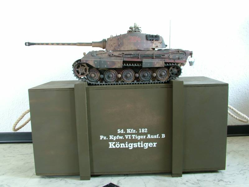 panzer transportkiste rc panzer. Black Bedroom Furniture Sets. Home Design Ideas